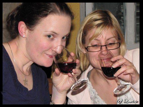 Melange Smelling the Wine