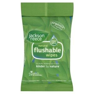 Jackson Reece FlushableWipes
