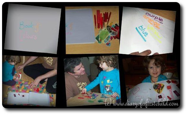 Learning Colours - Make A 'Book Of Colours'