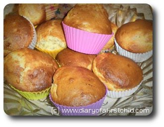 Little Cooks - Banana Muffins