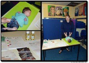 Baby Massage Week 2013 - Organic Monkey Massage Oil Giveaway