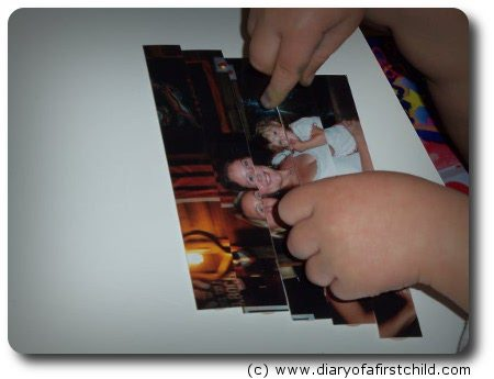 Photo Puzzle Activity For Toddlers
