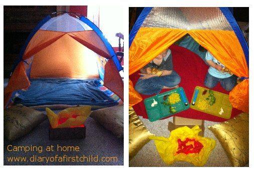 Andreas Summer Camp At Home - Week 4: Camping