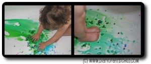Food colouring - colour mixing