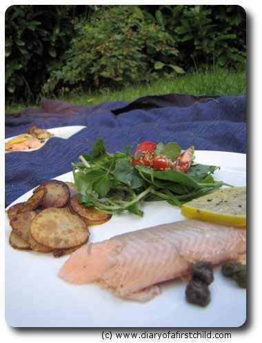 Lemon And Caper Fish On The BBQ Recipe