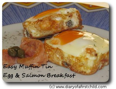 Easy Egg And Salmon Muffin Tin Breakfast Recipe