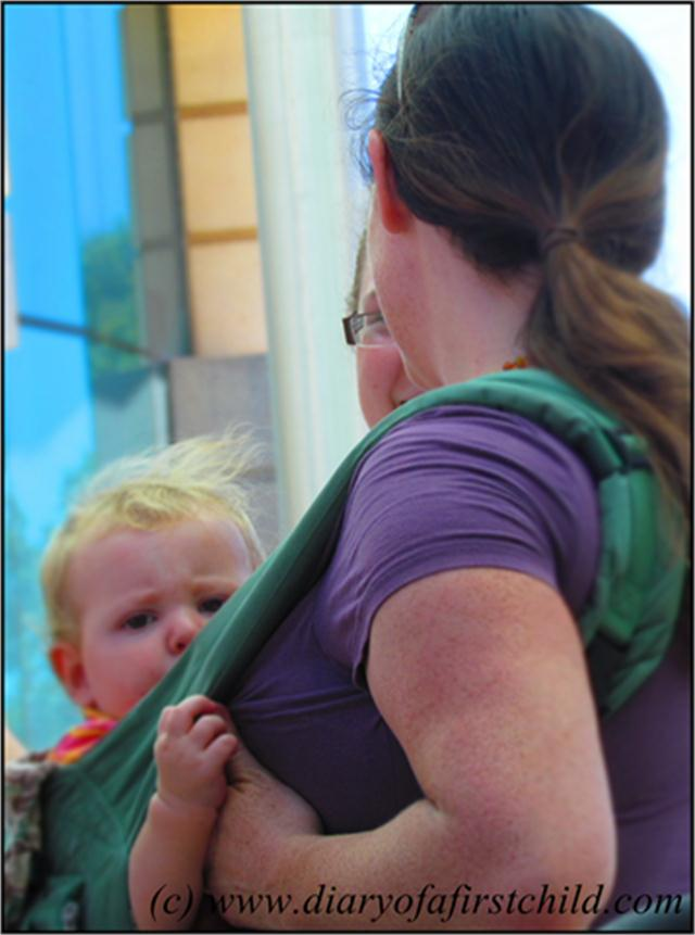 Perth Nurse In 2013 - Normalising Breastfeeding In Public