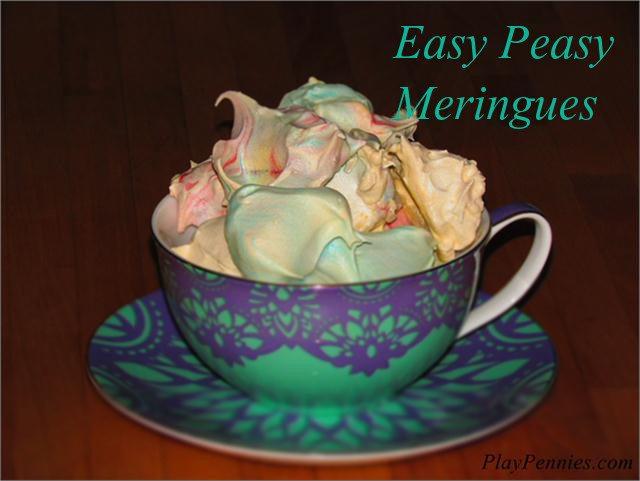 Easy Peasy Meringues Recipe