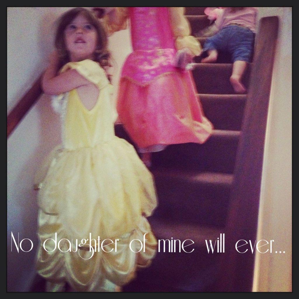 My child will never...