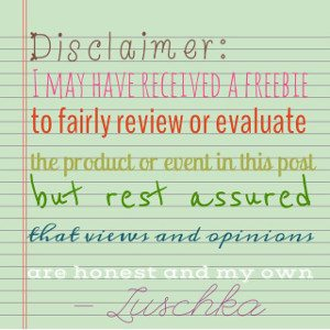 Disclaimer for reviews