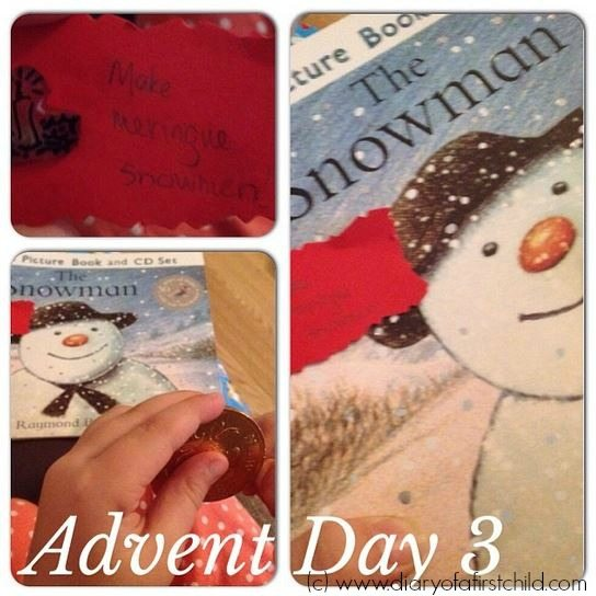 The Snowman - 24 Days of Christmas Crafts {Literature to Food}