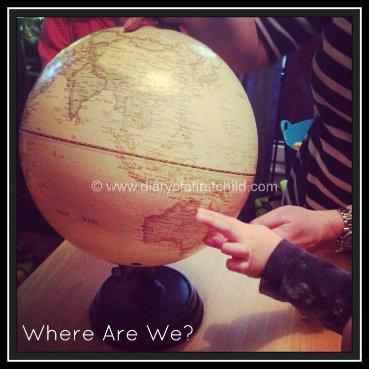 Australia Day Globe