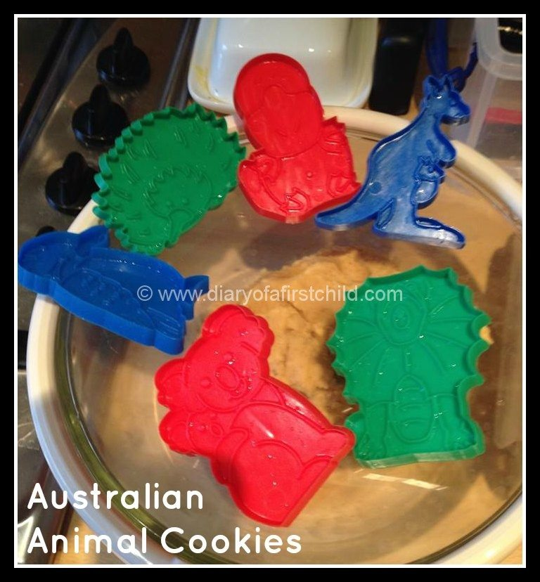 Bake Cookies for Australia Day