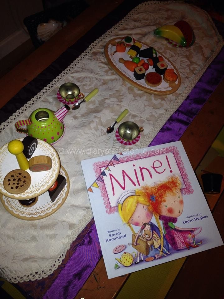 MINE - A Story About Sharing And Taking Turns {{Book Review}}