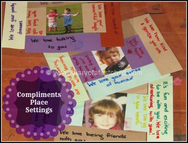 Compliment Place Settings