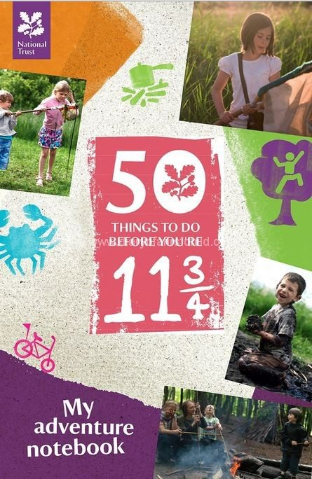 50 Things To Do Before you're 11 3/4 book