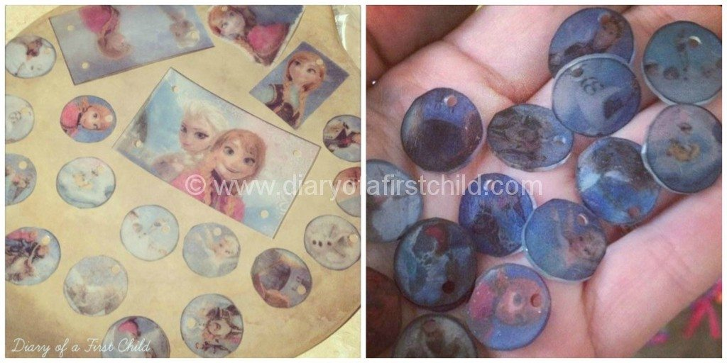 Disney Frozen Themed Shrinkles, Ice Play And DIY Jewellery