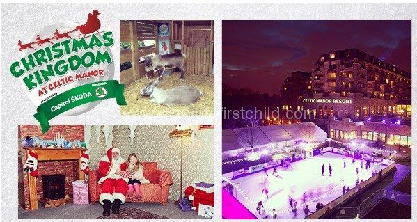 kids at christmas celtic manor