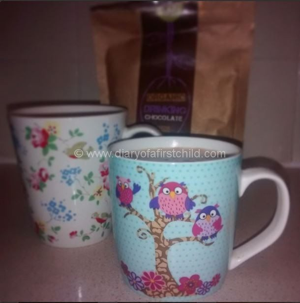 Deeply breathe and savour a cuppa