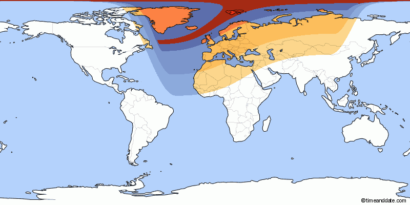 Solar Eclipse Zones