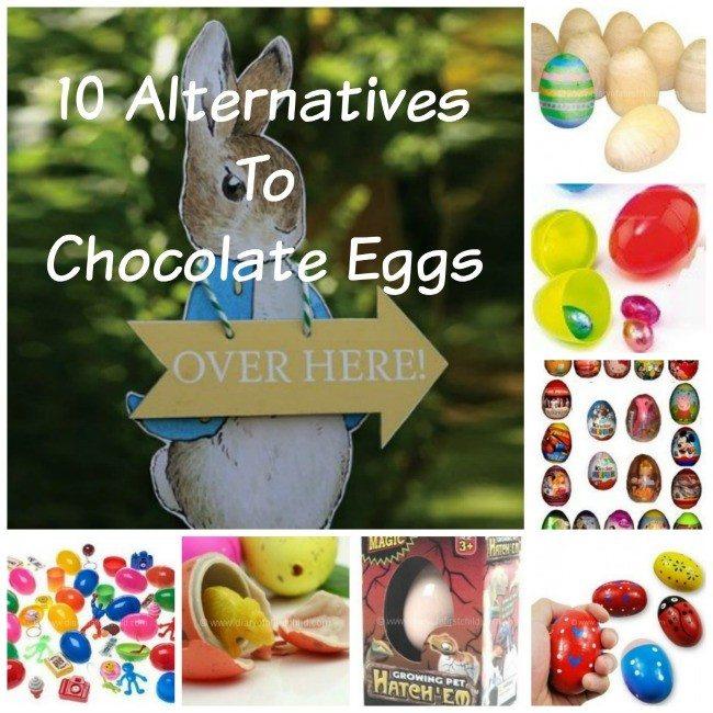 10 Alternatives To Chocolate Eggs