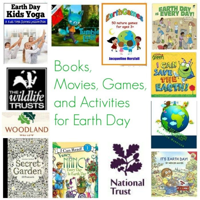 Earth Day Books, Movies, Activities And Games For Children