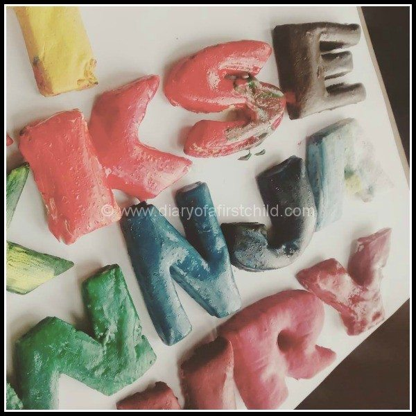 Salt Dough Alphabet Learning