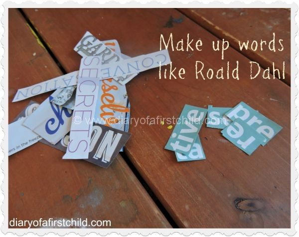 Make up words like Roald Dahl