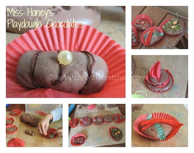Miss Honey's Playdough Chocolates