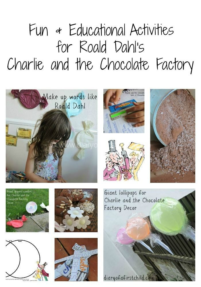 Study Unit: Roald Dahl's Charlie And The Chocolate Factory