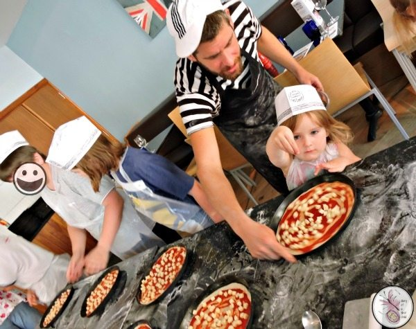 Pizza Express School Visit