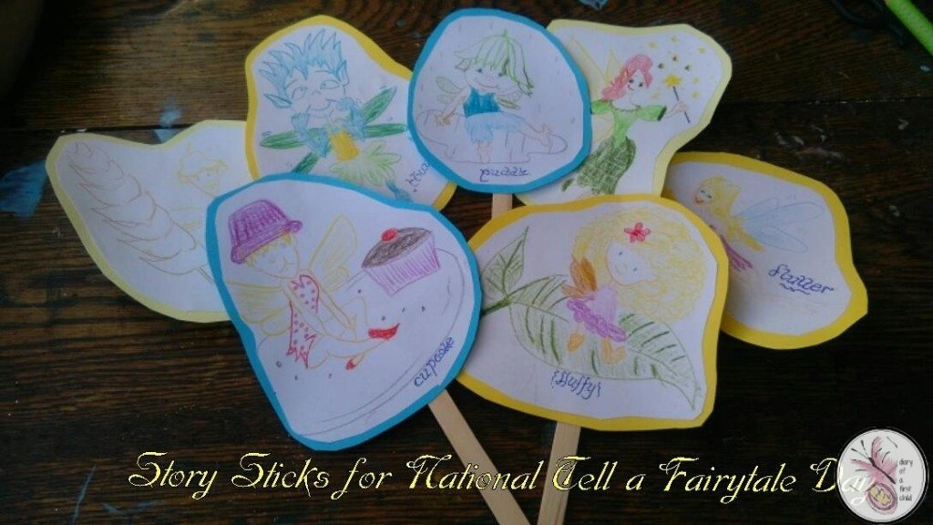 Fairy Story Sticks