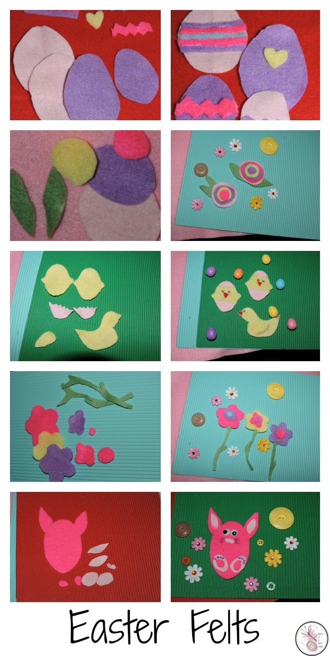Easter Felt Crafts- #BostikBloggers