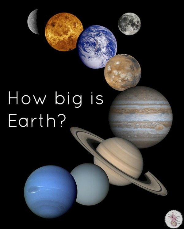 How Big Is the Earth