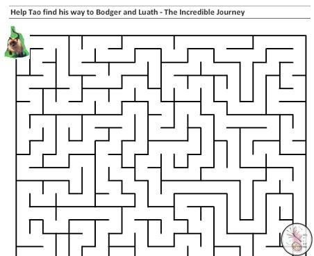 The Incredible Journey difficult maze