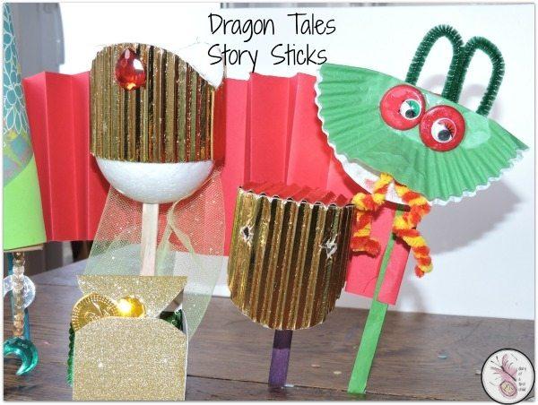 Dragon Tales Story Sticks