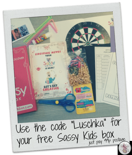 Sassy Kids Box Offer