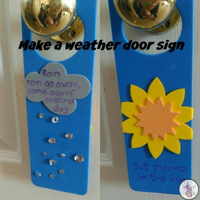 Weather Door Sign