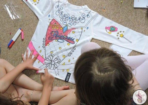 Princess Colouring T-Shirt