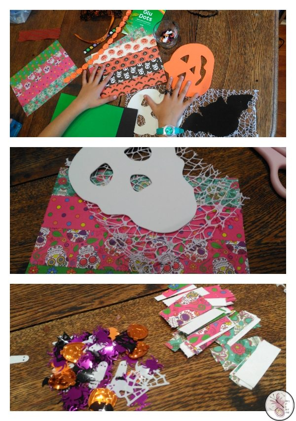 BostikBloggers Halloween Craft