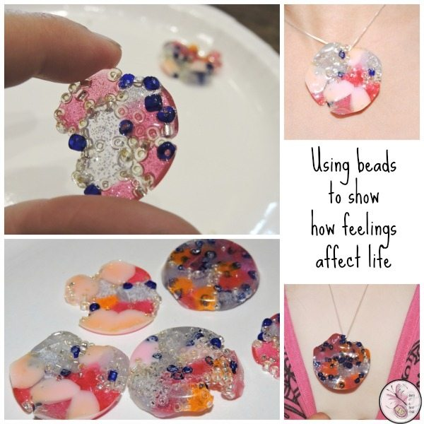 beads as feelings