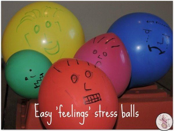 Easy 'Feelings' Stress Balls