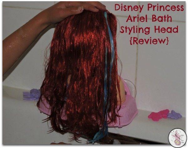 disney-princess-ariel-bath-styling-review