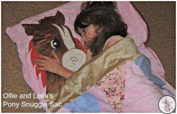 Ollie and Leila Snuggle Sac