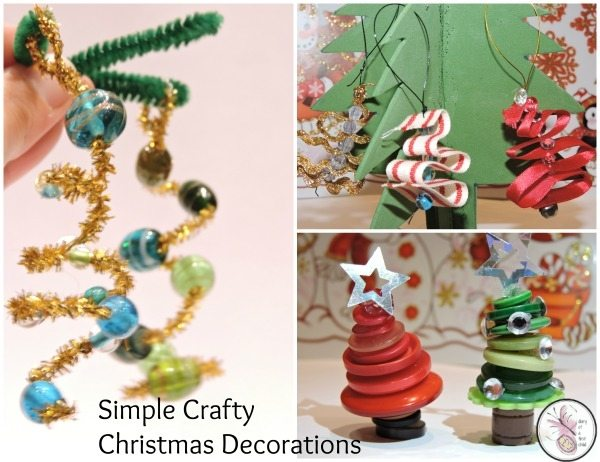 Simple Crafty Christmas Decorations