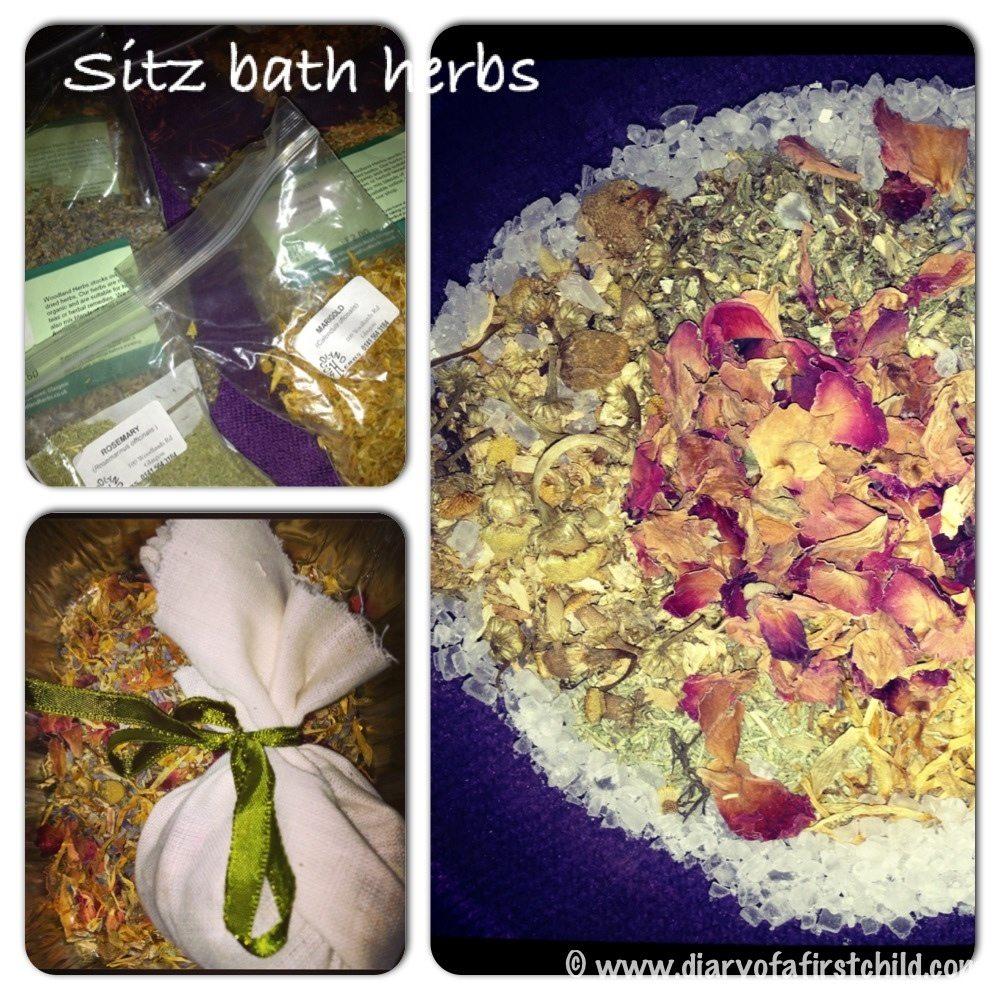Post Partum Sitz Bath And Perineum Healing Herbs Diary